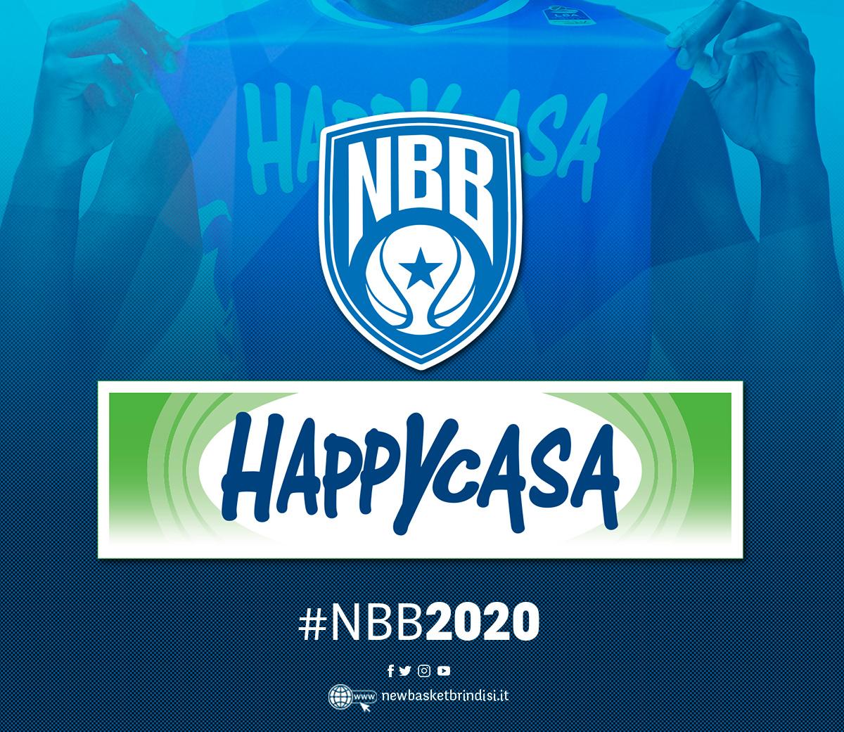 #NBB2020 Happy Casa e New Basket Brindisi ancora insieme!