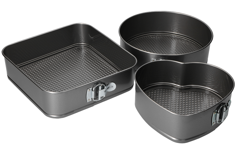SET TORTIERE 3 FORME ANTIADERENTI